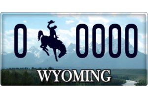 wyoming-license-plate